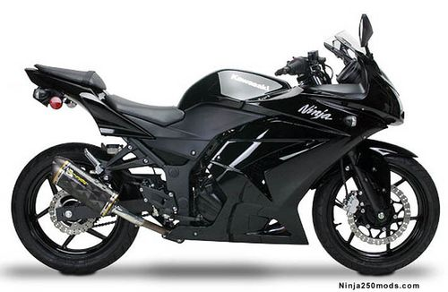 Ninja 250 Mods, parts, and accessories: Ninja 250 Modifications