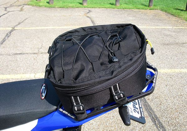 Wolfman Peak Tail Bag Yamaha Wr250r