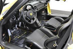 2003-Ferrari-ENZO-Yellow-interior