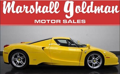 2003-Ferrari-ENZO-Yellow-side