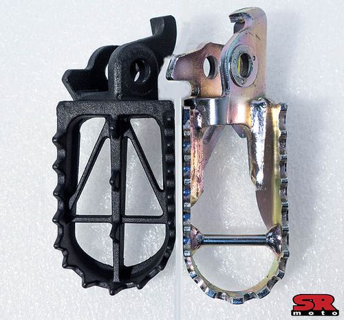 CRF250L-DRC-Footpegs-vs-Stock-Footpegs