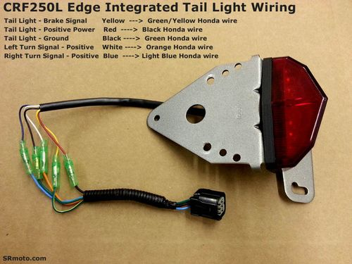 CRF250L-Edge-Integrated-Tail-Light-Wiring