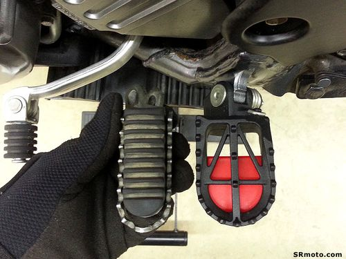 SRmoto-2008-DRZ400SM-DRC-Motard-Footpegs-Top-View