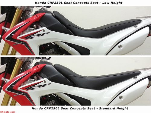 CRF250L-Seat-Concepts-Complete-Seat-Side-Profile-Low-vs-High