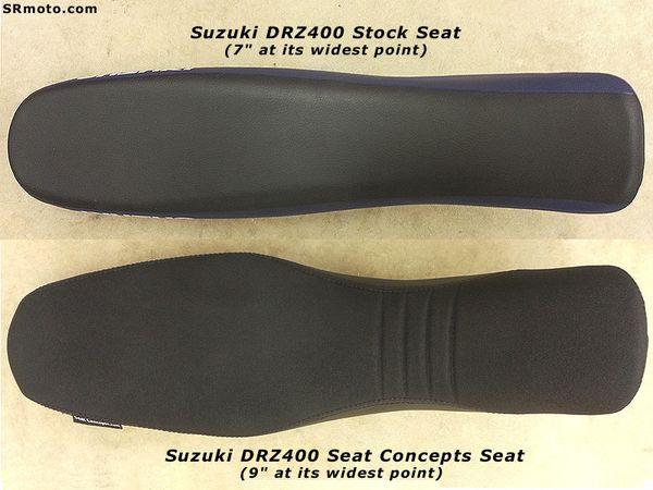 Admirable Suzuki Drz400S Drz400Sm Seat Concepts Seat Review Srmoto Pabps2019 Chair Design Images Pabps2019Com