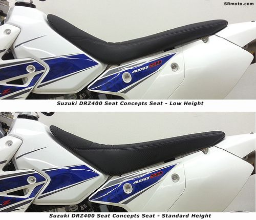 Suzuki-DRZ400-Seat-Concepts-Complete-Seat-Side-Profile-Low-vs-High