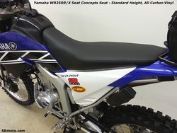 WR250R-Seat-Concepts-Standard-Height-All-Carbon-Vinyl-Cover
