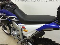WR250R-Seat-Concepts-Low-Height-All-Carbon-Vinyl-Cover