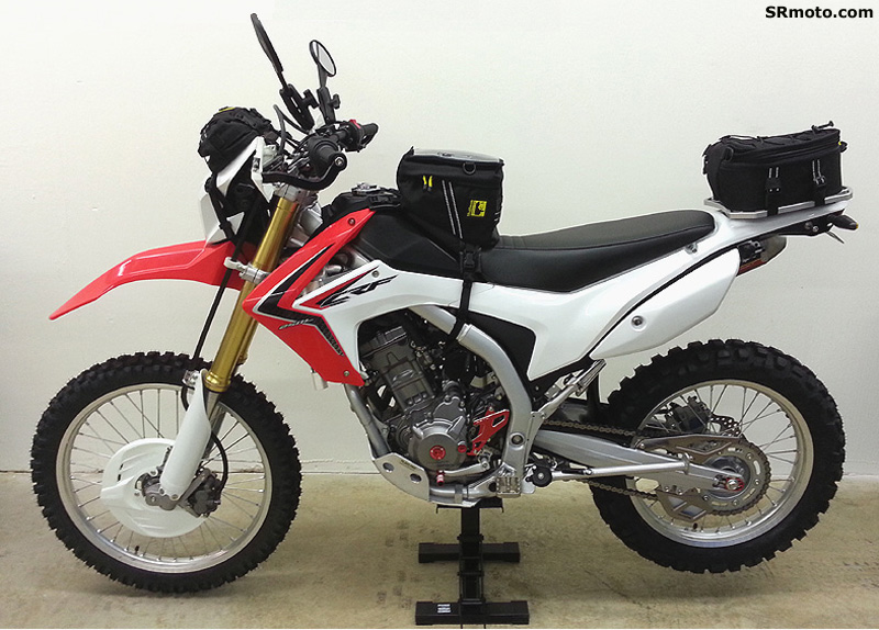 Honda-CRF250L-With-Wolfman-Bags