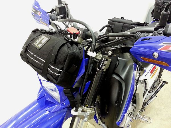 Wr250r With Wolfman Enduro Carry All Number Plate Bag