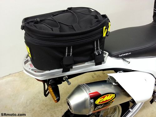 Crf250l With Wolfman Peak Tail Bag And Pro Moto Billet Rack