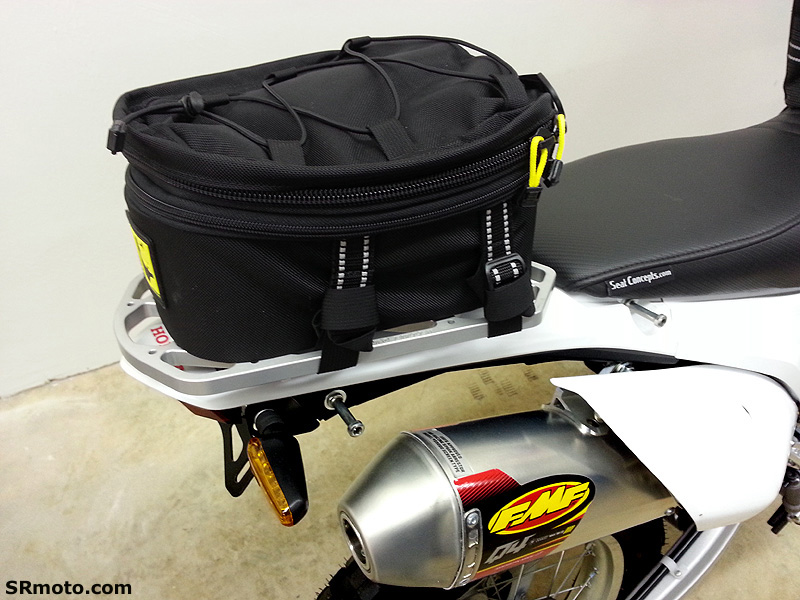 Honda Crf250l With Wolfman Peak Tail Bag 2