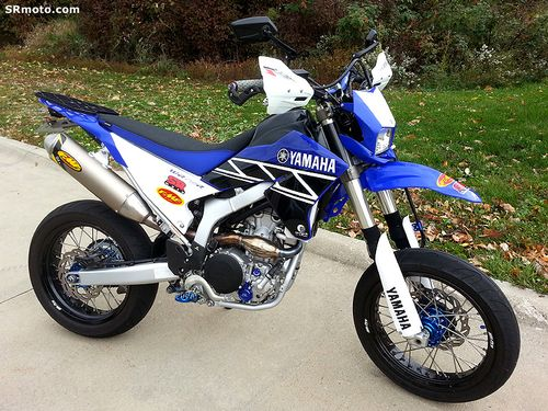 Yamaha Wrf Black And Blue