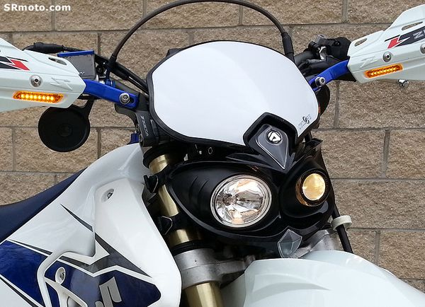 Acerbis Cyclope Headlight For The Suzuki Drz400sm And