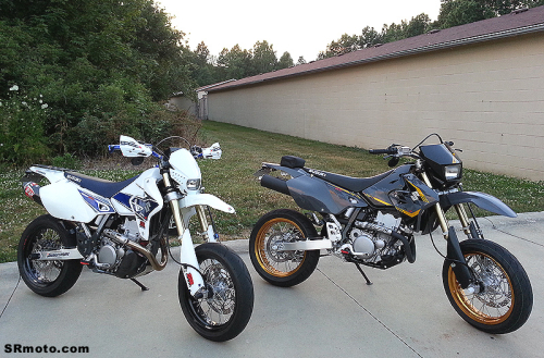 2008-and-2016-Suzuki-DRZ400SM