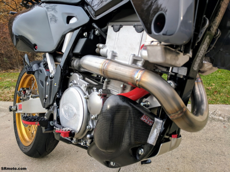 MRD Z-Pro exhaust systems now available for the DRZ400SM and