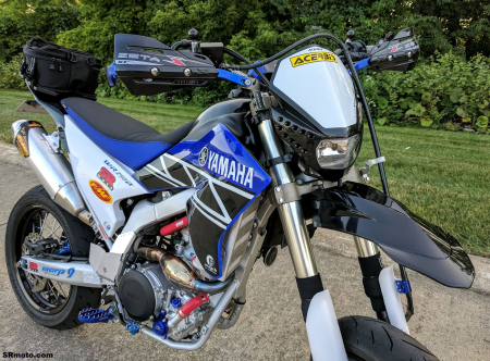 Yamaha-WR250R-Supermoto-handguards-headlight-fender