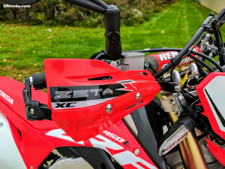CRF450L-Handguards-Zeta-PRO-Armor-Red-Closeup