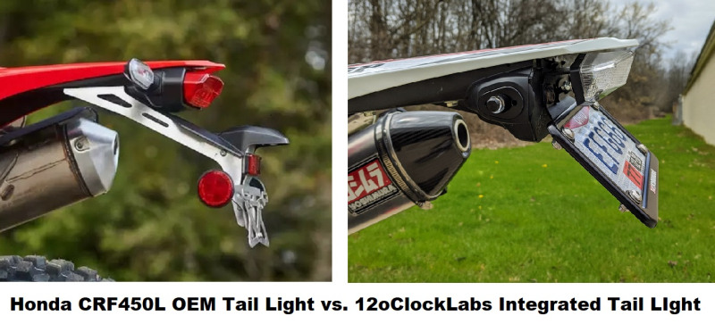 CRF450L-Stock-Tail-Light-vs-12oClockLabs-Integrated-Tail-Light